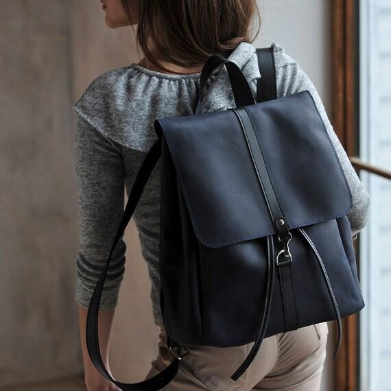 2f5e0ae80916 Leather backpack Woman backpack Travel backpack small backpack