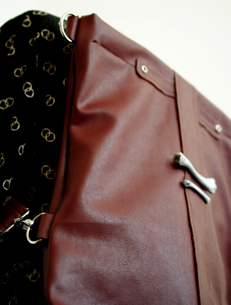 Choco Backpack can be worn as a shoulder bag tote bag image 0