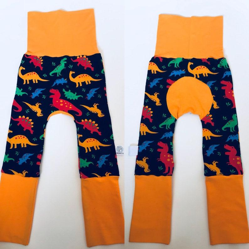 739bbbb70c1ab Organic Jersey Kids and Baby Rainbow Dinosaur Colourful | Etsy