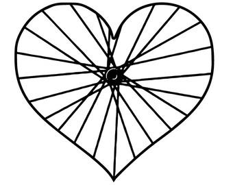 racing bike helmet etsy 1970s Bikes love bicycle 5 wheel heart tire rim spoke cycle cycling bike helmet race bmx freestyle racing speed logo svg eps vector cricut cut cutting