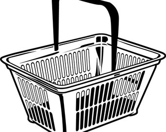 shopping cart svg etsy Fiji Island Decorations shopping basket 1 basket market shop store sale retail buy purchase food supermarket grocery svg clipart clipart vector cut cutting