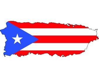 Puerto rico svg   Etsy