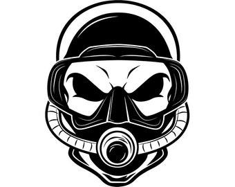snorkel clipart etsy Aruba Shipwreck Snorkeling scuba diving skull 2 mask goggles snorkel snorkeling nautical swim swimming underwater sea ocean svg eps vector cricut cut cutting