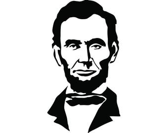lincoln svg etsy rh etsy com abraham lincoln hat clipart