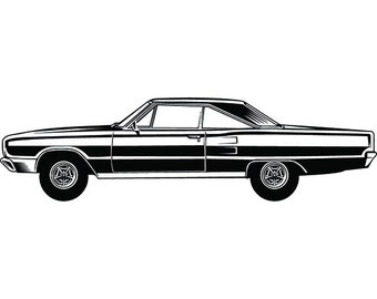 Muscle Car Svg Etsy
