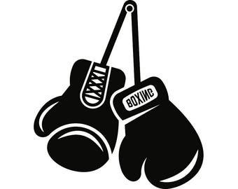 Boxing Logo Vector Etsy