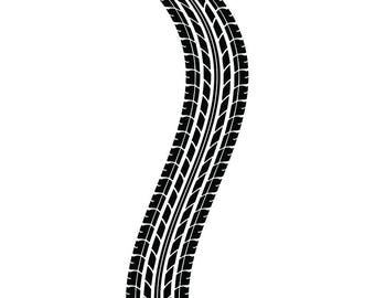 tire track 2 tread racing race mechanic engine repair service etsy rh etsy com SVG Files for Cutting Machines Vinyl Cutting Files SVG