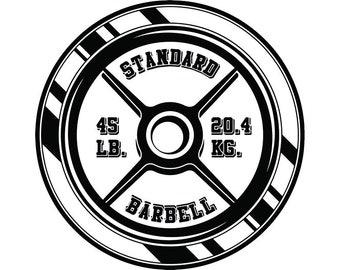Barbell Logo Etsy
