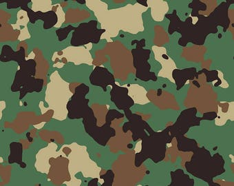 89f4dead11 Woodland Camo  2 Army Camouflage Seamless Pattern Military War Veteran  Soldier Troops POW Armed Service .SVG .JPG Clipart Vector Clip Art