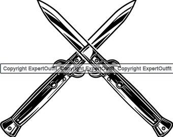 Automatic knife | Etsy