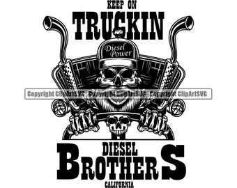 Download Diesel Brothers Logo Svg