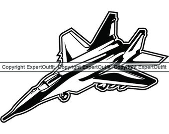 Military Jet Fighter Plane Air Aircraft Carrier #4 Car Tablet Vinyl Decal
