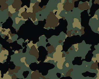 86511d92d4 Woodland Camo  5 Army Camouflage Seamless Pattern Military War Veteran  Soldier Troops POW Armed Service .SVG .EPS Clipart Vector Cricut Cut