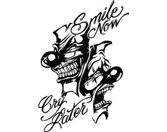 Smile Now Cry Later Etsy