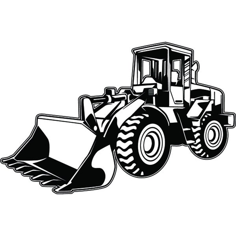Construction Vehicle 5 Wheel Loader Bulldozer Equipment