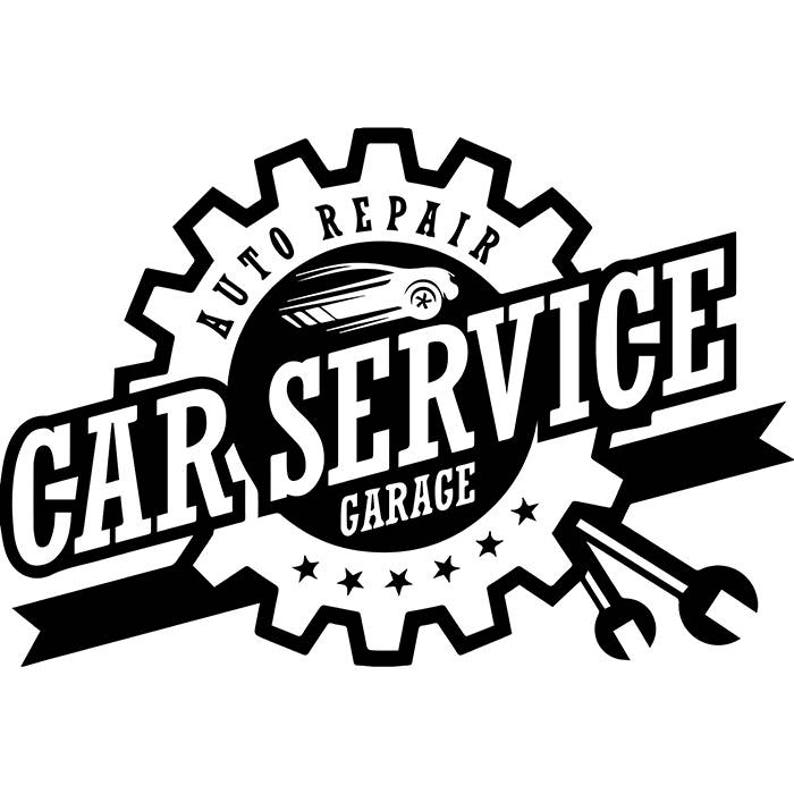 Mechanic Logo 49 Wrench Engine Auto Car Part Biker Motorcycle Etsy