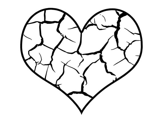 It is a photo of Candid Shattered Glass Coloring Page
