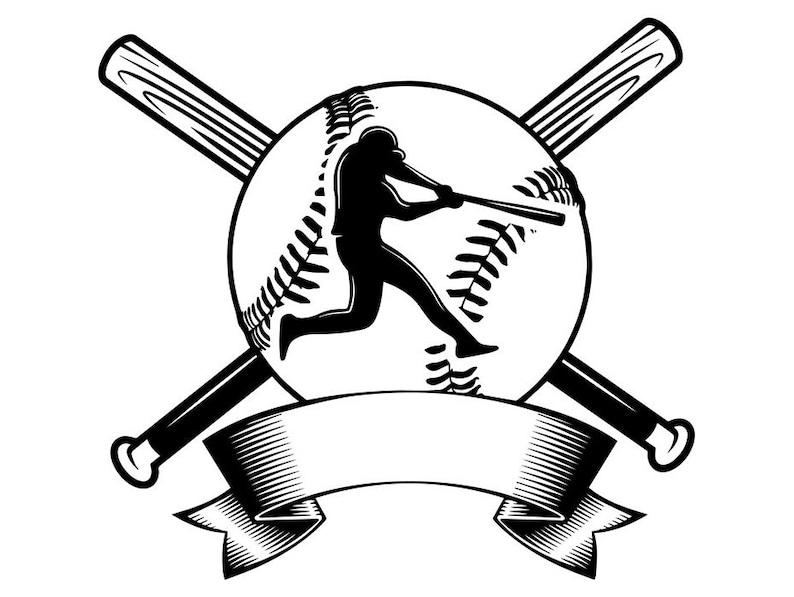 Baseball Logo 12 Player Tournament Ball Bat League Equipment