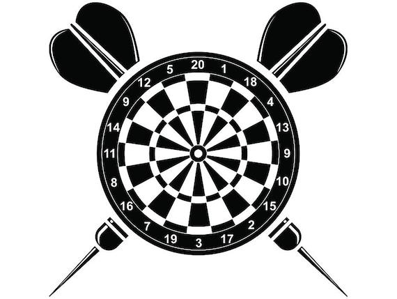 Darten Logo 21 Dartbord Tips Vluchten Board Championship Etsy