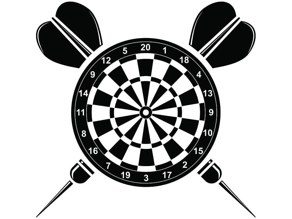 Dartscheibe Logo