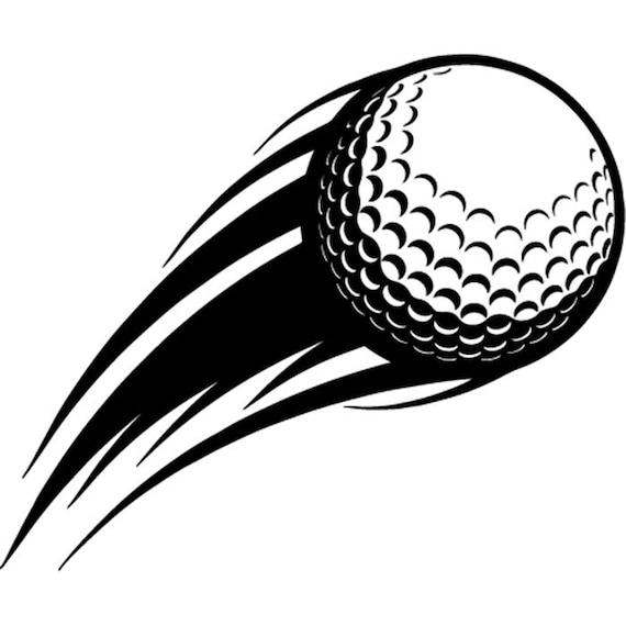 Golf Ball 5 Action Motion Flying Shot Golfer Golfing ...
