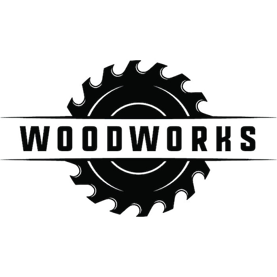 Free Visa Gift Card >> Woodworking Logo 29 Saw Blade Tool Craftsman Carpenter Build   Etsy