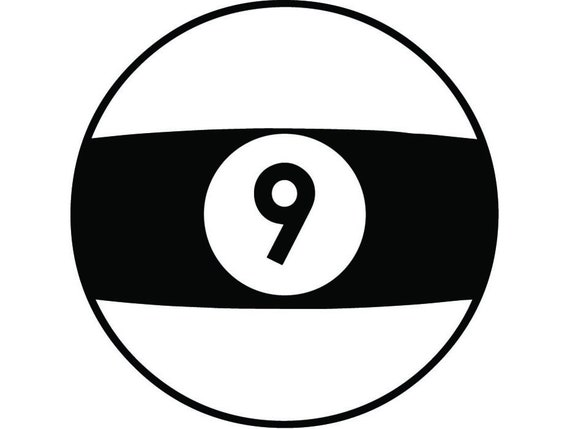 Billiards Nine Ball 1 Eight 8 9 Sports Pool