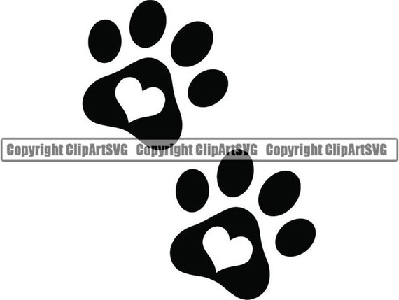 Paw Print 6 Heart Love Dog Puppy Cat Kitten Animal Footprint Etsy To get more templates about posters,flyers,brochures,card,mockup,logo,video,sound,ppt,word,please visit pikbest.com. paw print 6 heart love dog puppy cat kitten animal footprint foot toe print animal canine logo svg png clipart vector cricut cut cutting