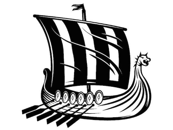 Viking Ship 3 Norway Sail Sailing Nautical Norseman ...