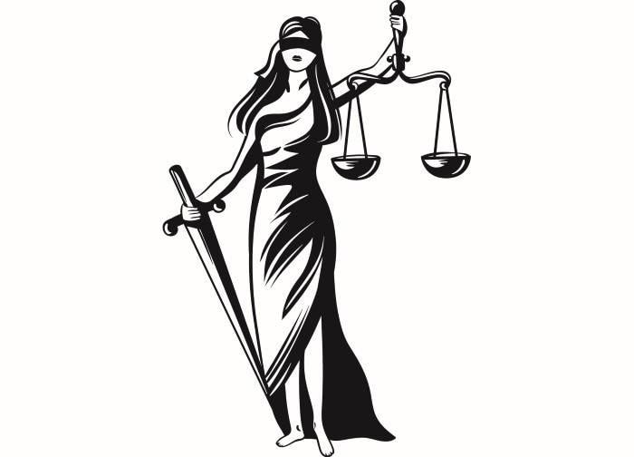 Bilancia Della Giustizia 2 Femida Avvocato Avvocato Legge Etsy