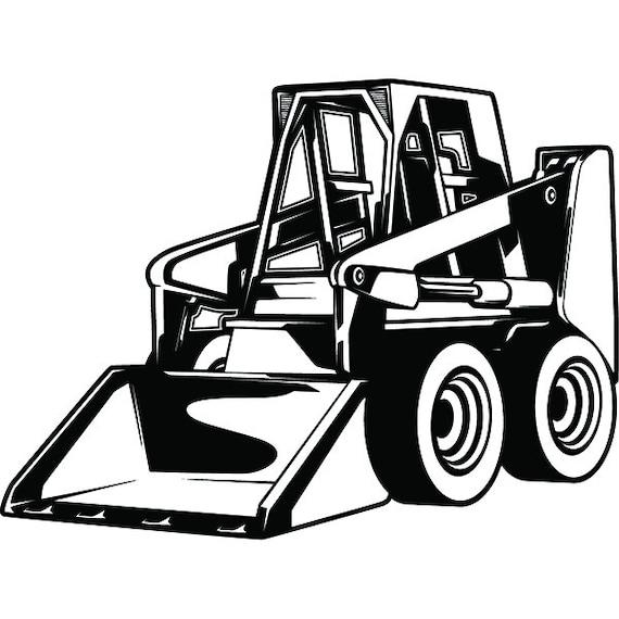 Construction Vehicle 4 Skid Steer Loader Machine Equipment