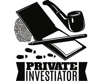 Image result for private investigator clipart