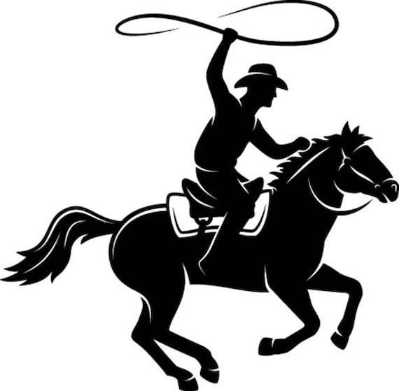 Cowboy Lasso 1 Horse Saddle Country Western Horse Riding Etsy