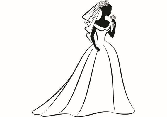 wedding bride 1 love ceremony married vintage cake dress gown veil rh etsystudio com