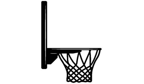 basketball hoop 2 backboard goal rim basket net sports game icon rh etsystudio com Basketball Goal Net Basketball Goal Net
