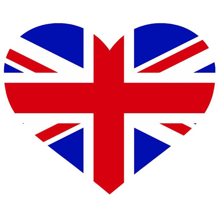 United kingdom coeur en forme de drapeau uk angleterre europe etsy - Drapeau de l angleterre a colorier ...