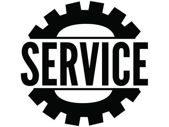 Mechanic Logo 81 Wrench Engine Auto Car Part Biker Motorcycle Etsy