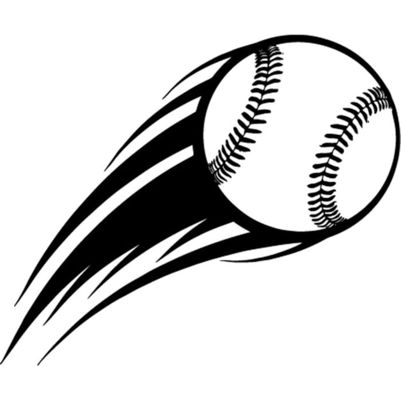 Baseball Logo 33 Motion Action Flying Ball School Pro ...