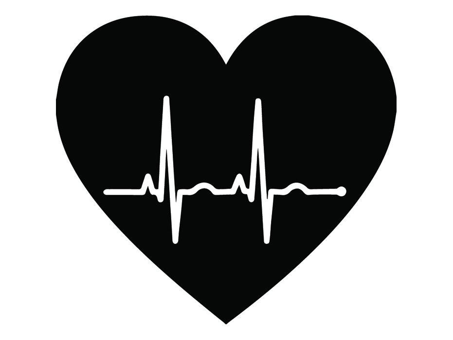 Medical Logo 20 Heart Beat Life Line Emt Emergency Medical Etsy