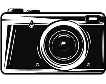 Camera Vintage Vector Png : Camera instant polaroid photography photographer digital
