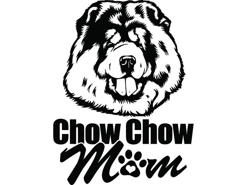 Chow Chow 10 Mom Love Dog Breed Pedigree Canine K 9 Animal