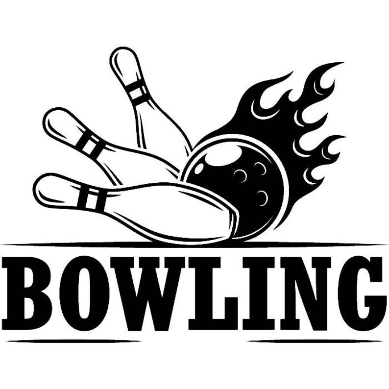 Bowling Logo #11 Ball Pin Sports Bowl Game Bowler Alley Strike Tournament  Competition League Logo  SVG  EPS  PNG Clipart Vector Cricut Cut