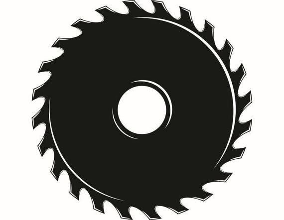 saw blade 1 hardware cutting cut shape wood tool handyman etsy rh etsy com table saw blade clip art saw blade clip art free