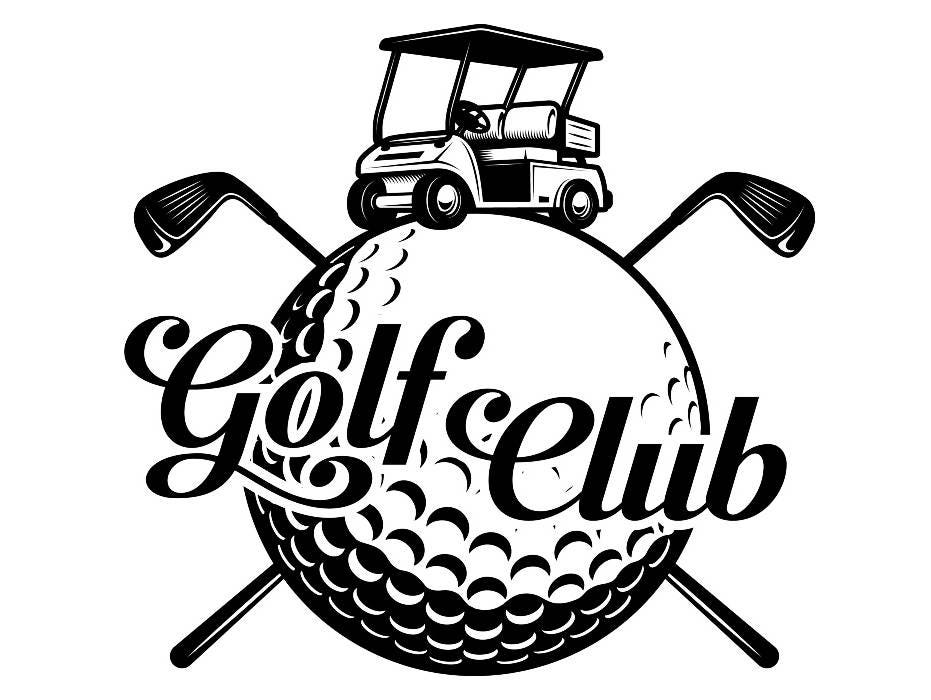 Golf Logo 10 Tournament Club Iron Wood Golfer Golfing Sport