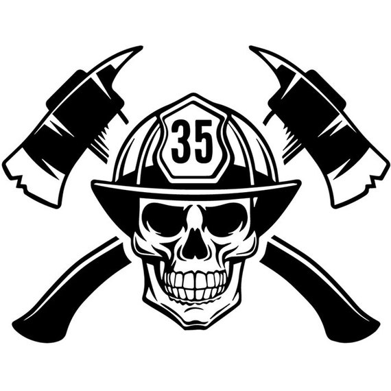 7f6bd0b37aa Firefighter Logo 24 Firefighting Rescue Axes Fireman Fighting