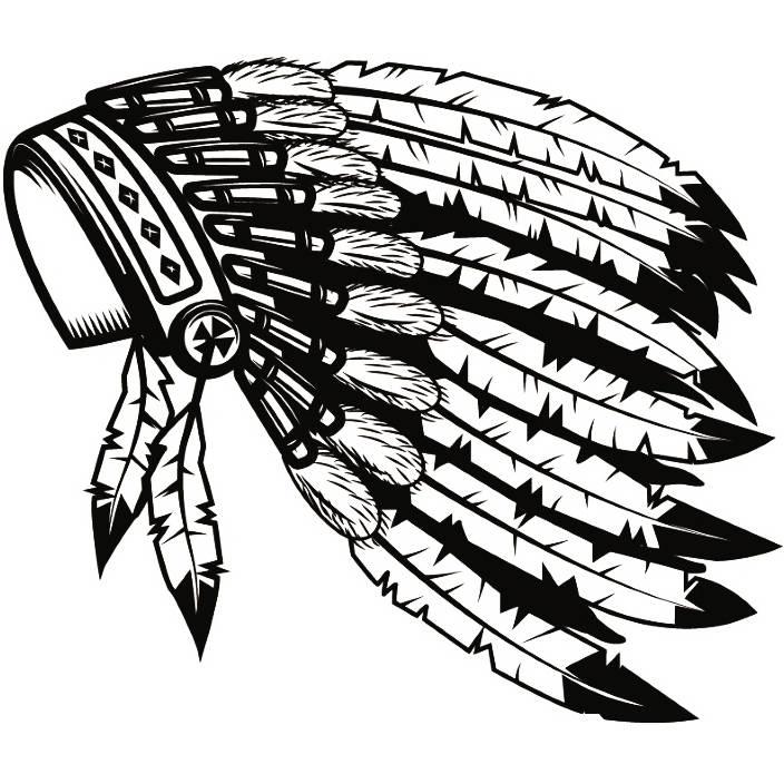 b35ff2feeaa Indian Headdress 2 Native American Head Dress Tribe Chief