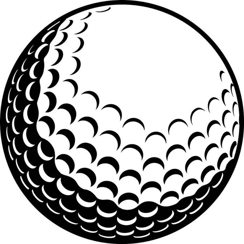 Golf Ball 2 Golfer Golfing Clubs Sports Competition