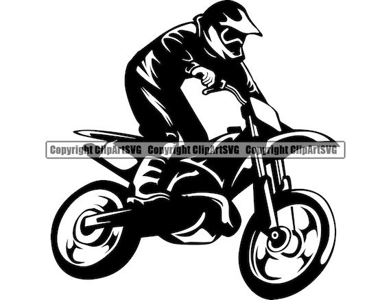 Motorcycle Clip art Motorbike digital clipart motocross moto clipart