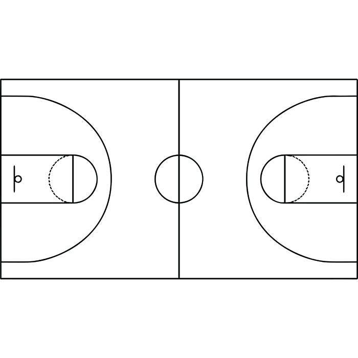 basketbalveld 1 speelt coach coaching playbook sport spel