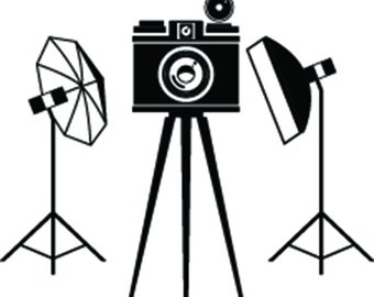 Camera #10 Studio Lighting Photography Photographer Digital Lens Photo Equipment Art Vintage Retro .SVG .EPS .PNG Vector Cricut Cut Cutting